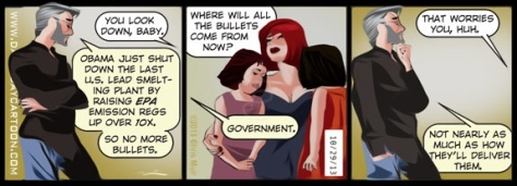 buy ammo from government cartoon