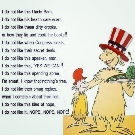 Dr Seuss on Obamacare