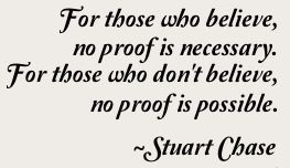 no proof possible stuart chase
